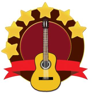 Level 6 Guitar Icon