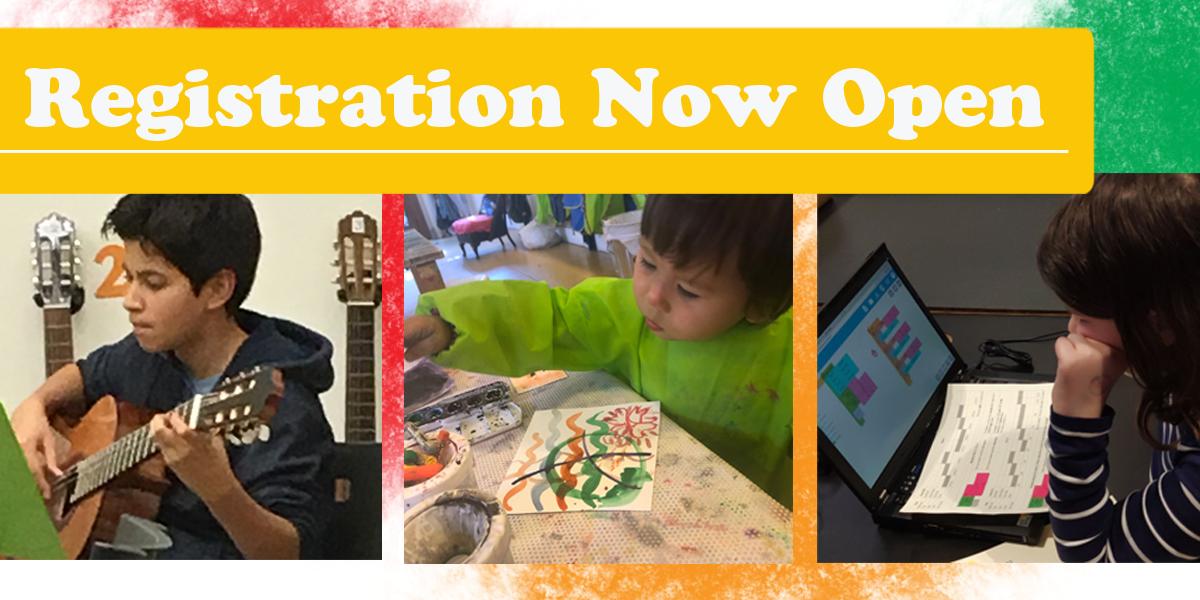 Register Now for MAP Family Learning Center Classes!