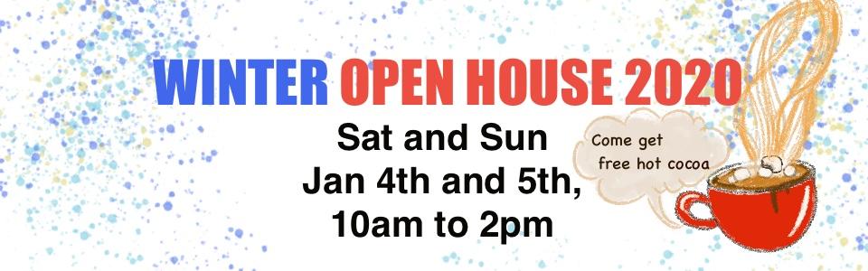 2020, Jan 4th Open House