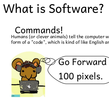 "Image of Handout for ""What is Free Software?"""