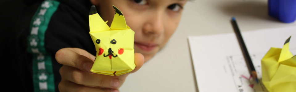 student origami