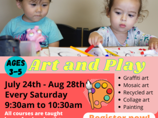 Art and Play Flier